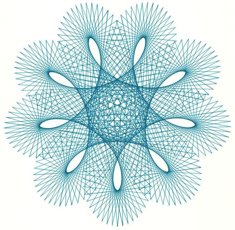 spirograph pattern software digital spirography plotter art museum of computer culture