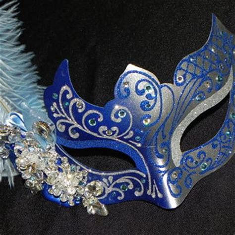 light blue masquerade masks feather masquerade mask in light blue from the crafty