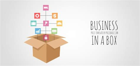 business in a box presentation template sharetemplates