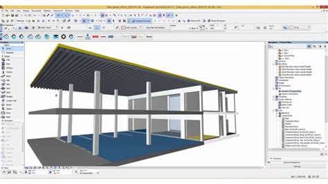 live roof rvt sika roofing systems archicad