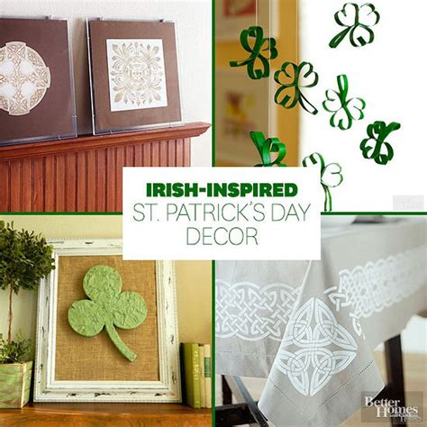 st patrick s day home decorations irish inspired st patrick s day decor from better homes