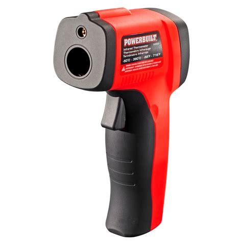 Infrared Thermometer Gun powerbuilt temperature gun infrared non contact laser