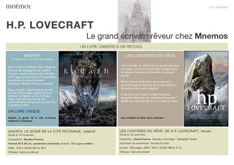 H P Lovecraft En Novembre Chez Mn 233 Mos Elbakin Net