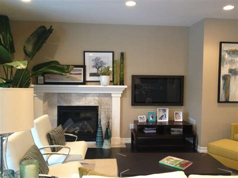 tv   fireplace   home decor  center fireplace living room  fireplace