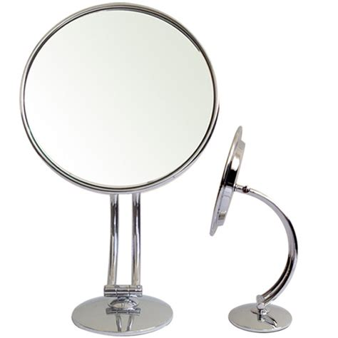 Bathroom Mirrors On Stand Rucci M879 7x 1x Chrome Stand Mirror Bathroom Accessories