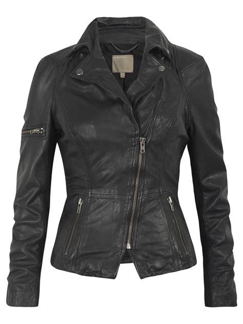 black motorcycle jacket muubaa lyra black leather biker jacket