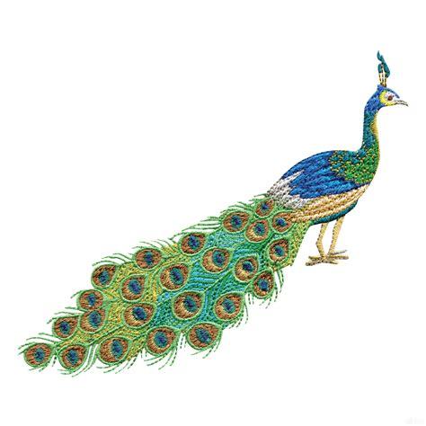 pics of designs swnpa144 peacock embroidery design