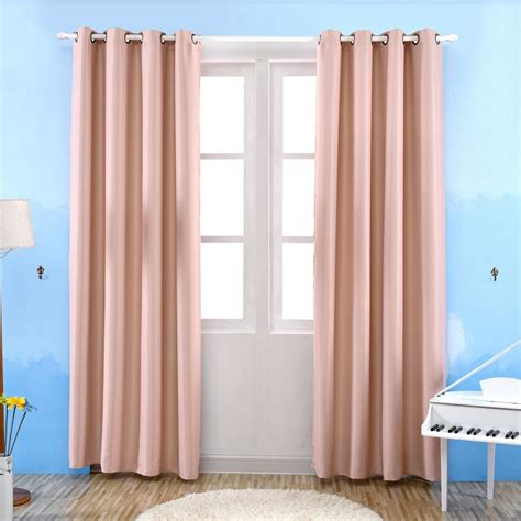 thermal bedroom curtains honana wx c12 room darkening thermal insulated blackout