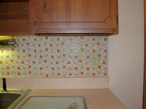 glass tile backsplash with laminate countertops desjar