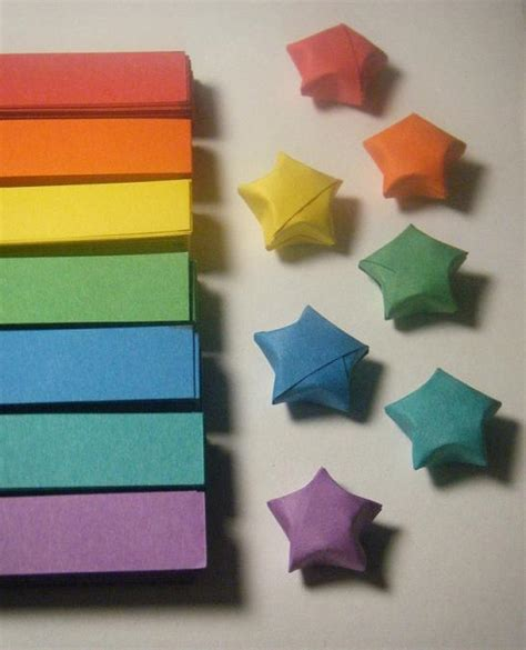Lucky Origami - origami lucky strips 1 by celticknot003 on deviantart