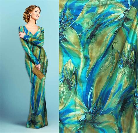For Printed Satin by Always Hip Printed Silk Satin Charmeuse Fabric 16 Momme