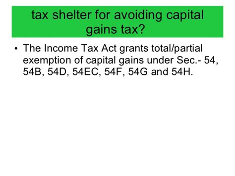 section 54 of income tax act capital gains 1