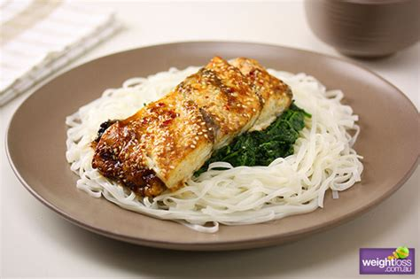 Healthy Fast Dinner Spiced Fish by Asian Style Baked Fish