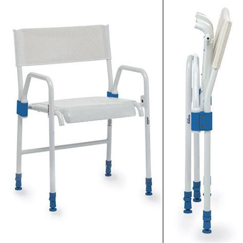 Folding Shower Chair by Aquatec Galaxy Folding Shower Chair Bathing Aids