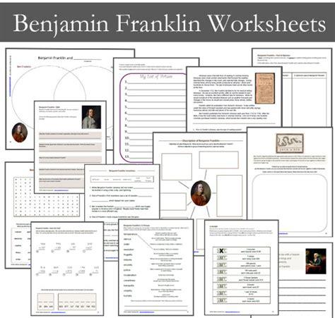 benjamin franklin biography 2nd grade benjamin franklin worksheets mamas learning corner