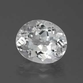 White Brazil Topaz Oval white topaz 5 6 carat oval from brazil and