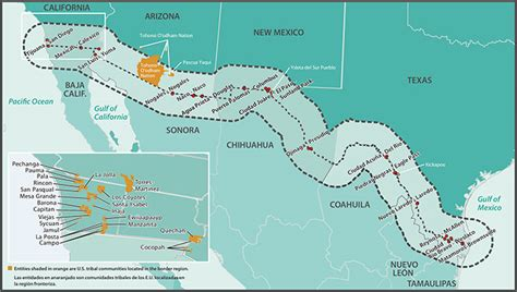 map us mexico border 2 section three current conditions in the u s mexico