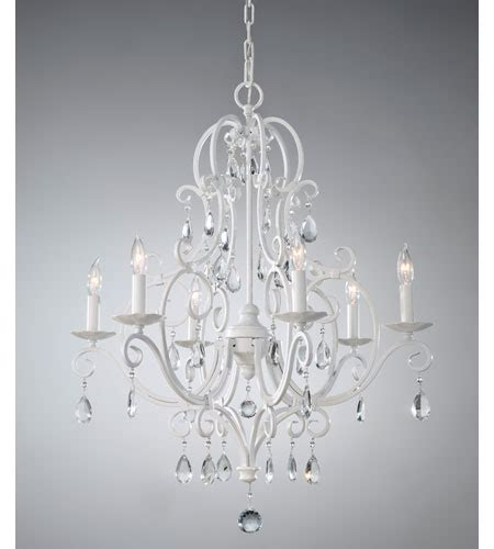 Murray Feiss Chateau Chandelier Feiss F1902 6sgw Chateau Blanc 6 Light 25 Inch Semi Gloss White Chandelier Ceiling Light