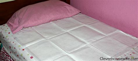 Bed Mats For Potty by Woes Of Potty Goodnites Disposable Bed Mats To