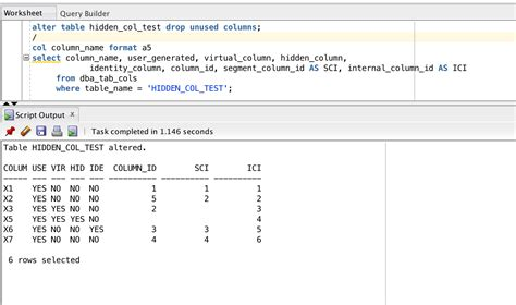 Describe Table Oracle by Invisible Columns In Oracle Database 12c Simple Talk