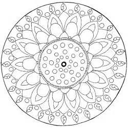 Coloriage Mandala Chat Gratuit