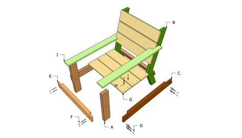 outdoor wood chair plans free quick woodworking projects