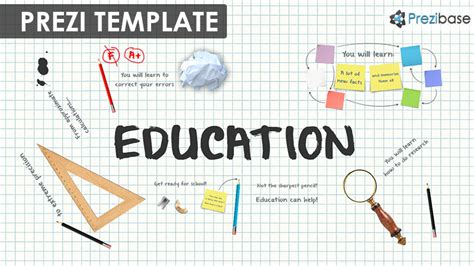 prezi free template education prezi template prezibase