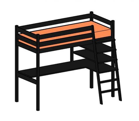 stora loft bed revitcity com object a revised ikea stora loft bed