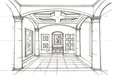 Interior Designer Drawings by How To Draw Inside House
