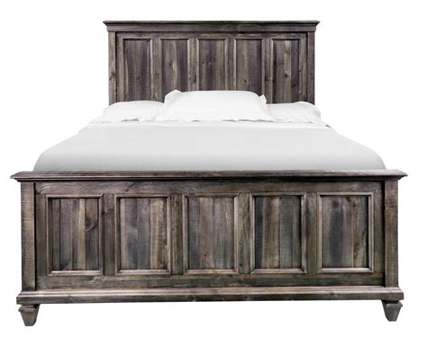 magnussen home calistoga panel bed with headboard