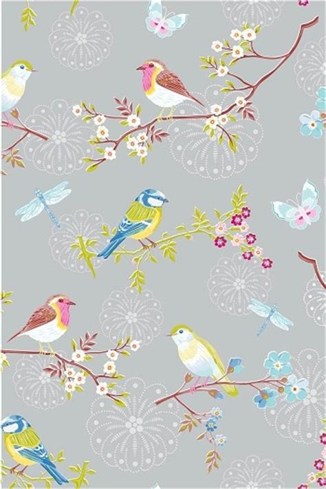 bird wallpaper home decor pip early bird grey wallpaper wallpaper by pipstudio com