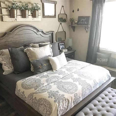 bedroom design pinterest farmhouse bedroom pinteres