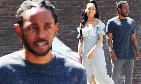 kendrick lamar wife kendrick lamar treats fiancee whitney alford to roman