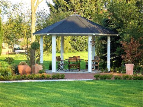 Pavillon 2x4 by 6 Eck Pavillon Holz Offen Gartenpavillon Panorama Riwo
