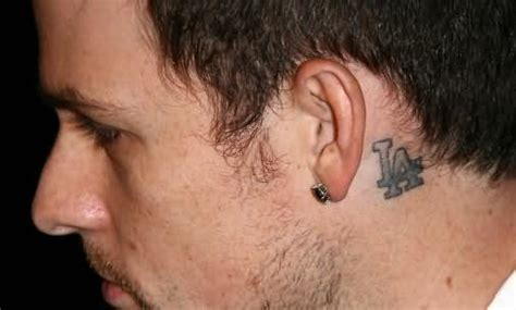 Joel Madden Tattoo Behind Ear | welcome tattoostime com bluehost com