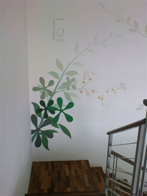 painting on wall simple wall painting