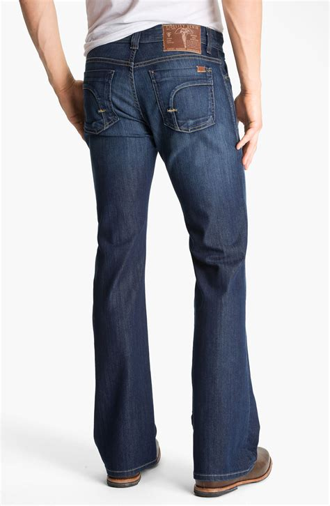 Fidelity Denims 07 Line by Fidelity Denim Charger Bootcut In Blue For