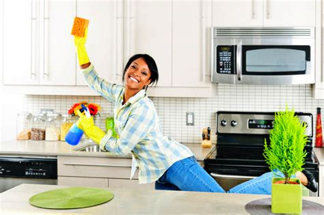 kitchen clean spring cleaning tips ideas from top to bottom