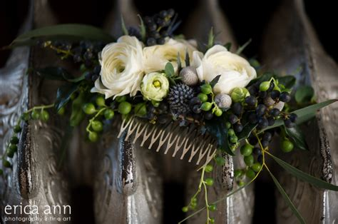 Flower Hair Comb flowers for your hair bridal flowers to wear floral hair
