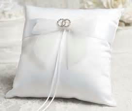 wedding pillow rings rhinestone rings wedding ring bearer pillow