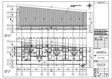 contoh desain rumah kost  lantai desain rumah cantik