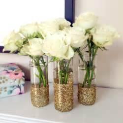 diy glitter glass vases popsugar smart living