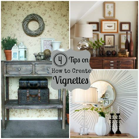 Vignette Home Decor by How To Create A Vignette Do It Yourself Decorating