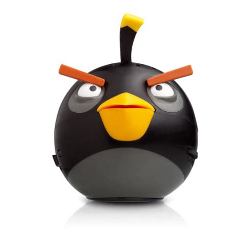Plush Card Reader Speaker Yellow Angry Birds Mini Speaker gear4 angry birds g4pg779g mini speaker black bird