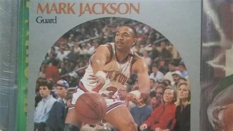 mark jackson guard nba hoops card value of old mark jackson trading card skyrockets for
