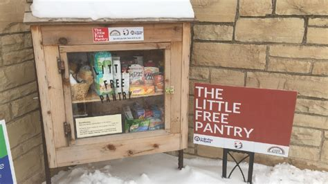 Oshkosh Food Pantry by Free Pantry In Oshkosh Offers Unique Way To Help