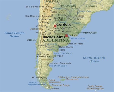map of argentina cities la nueva porte 241 a big city smaller city middle of nowhere