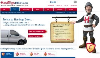 hastings house insurance hastings direct van insurance telephone website email and address