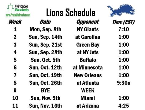 printable lions schedule search results for printable squares calendar 2015