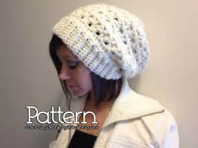 Kids slouch hat crochet pattern my crochet